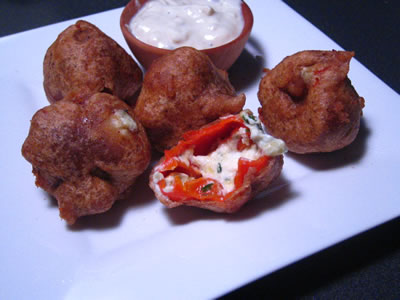 Habanero Pepper Poppers