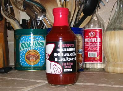 Grumpy's Private Reserve Black Label Bar-B-Que Sauce