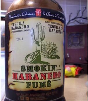 Tequlia Habanero BBQ Sauce