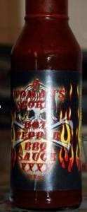 A Woman's Scorn Hot Pepper BBQ Sauce XXXX