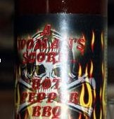 A Woman's Scorn Hot Pepper BBQ Sauce XXXX