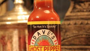 Dave's Gourmet Ghost pepper naga Jolokia Hot sauce