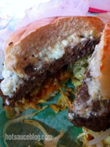 Lankford Grocery - Buffalo Hot Sauce Burger