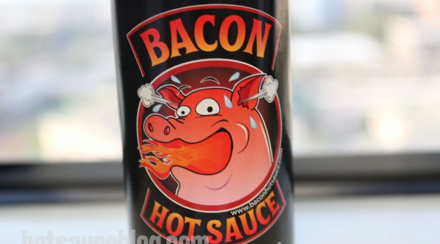 Bacon Hot Sauce Label