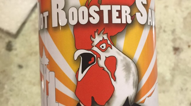 de Mar's Hot Rooster Sauce - Hot Sauce Review